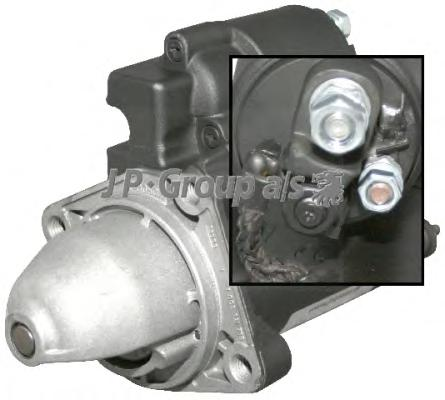 Стартер/Starter motor, 1.1 kW JP GROUP